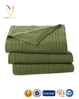 Cable Knit Baby Blanket Wholesale,Merino Wool Baby Blanket cable design