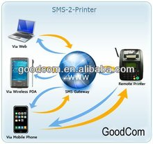 Goodcom Mobile Wireless POS Terminal Build-in Printer For Airtime Recharge,Top-up,Bill Payment