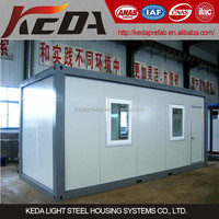 2015 modern prefabricated pre-made container house