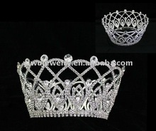 Pageant Rhinestone Fashion Women hair accessories beauty <strong>crown</strong> H172-151