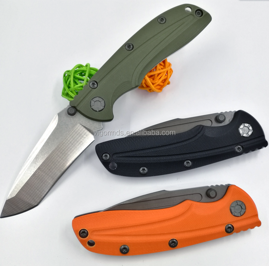 (PK-4867G) 2017 NEW High Quality Tactical Survival Outdoor Folding Pocket Knife Halo No.1