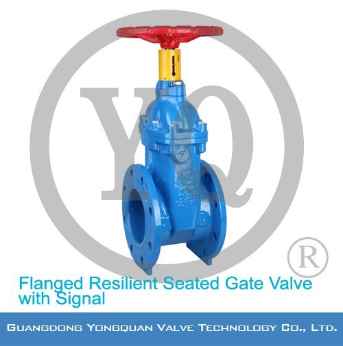 Flanged Resilient Seated Gate Valve Dimensions with DN 40-600mm/40-400mm, PN 1.0/1.6/2.5/4.0MPa