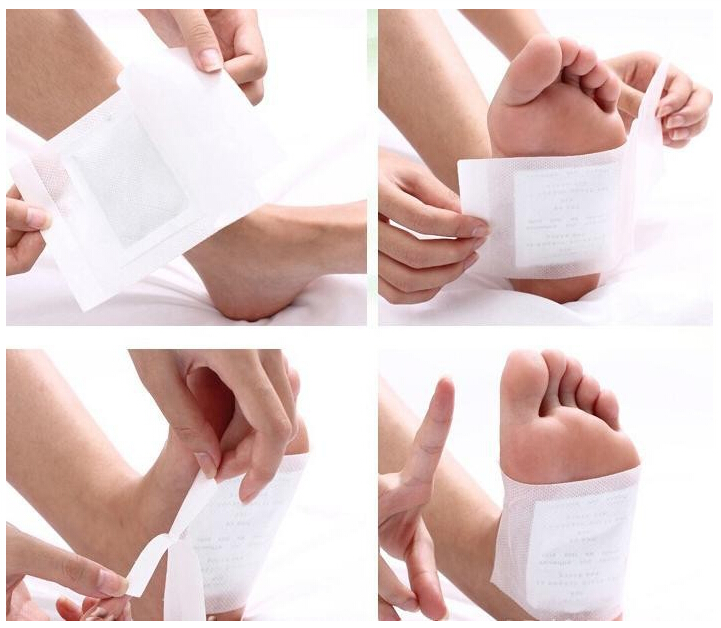 detox and slim foot patch with rose extract