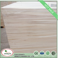 Accept OEM Paulownia Wood Joint Board Glued In Width