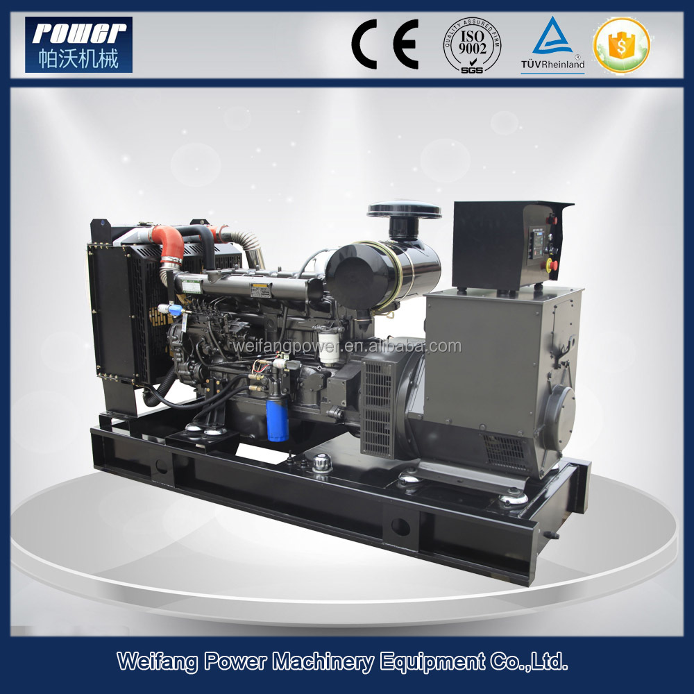 2016 new products 100kva electric generator specifications