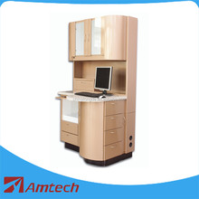 2017 fashion design high quality AML-18 dental cabinet/dental furniture with multi drawers
