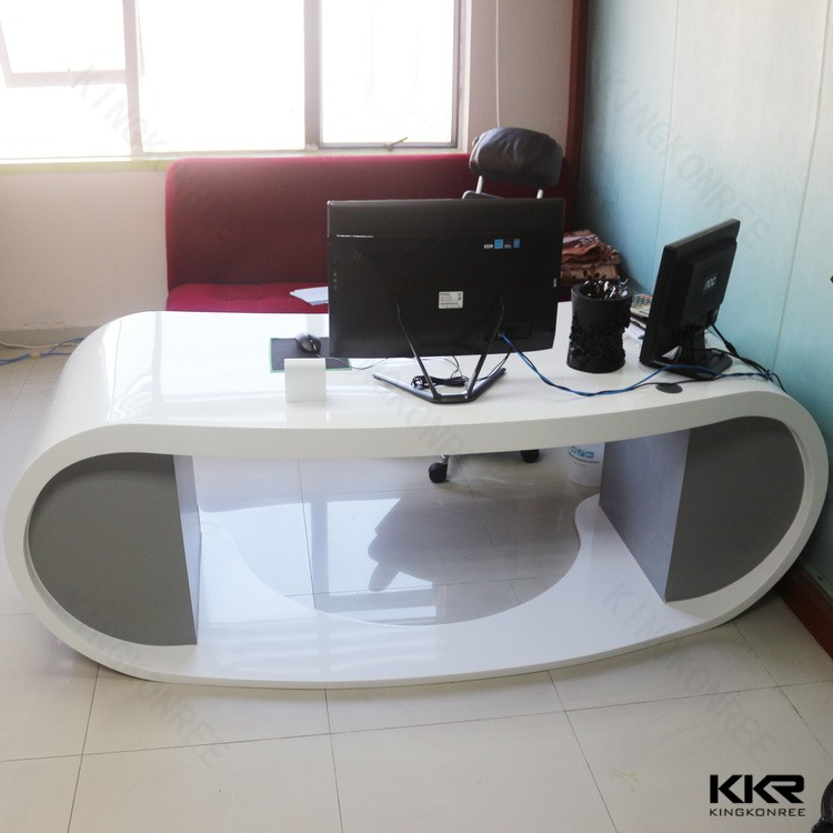 solid surface boss modern director office table design