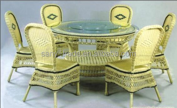 Garden/Dining/Outdoor/Indoor Use Bamboo Furniture
