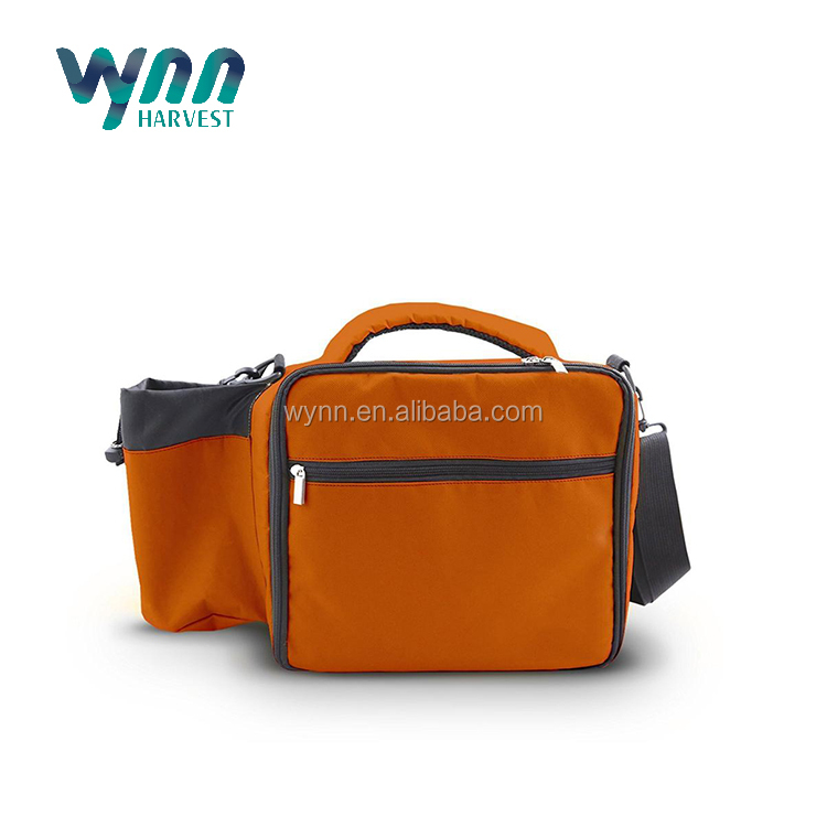 2017 New Arrival Insulated Waterproof Cooler Bag with Side Pockets
