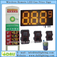Excellent factory of digit design easy for maintaining high brightness waterproof For petrol station led price sign mark 7-segme