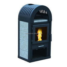 Wood Burning Heater Stoves easy clean cast iron stove fireplace