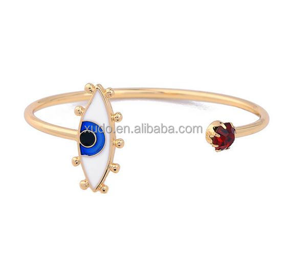 free shipping new EYE bangle latest bangle designs in gold