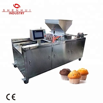 SH-600 cupcake production line