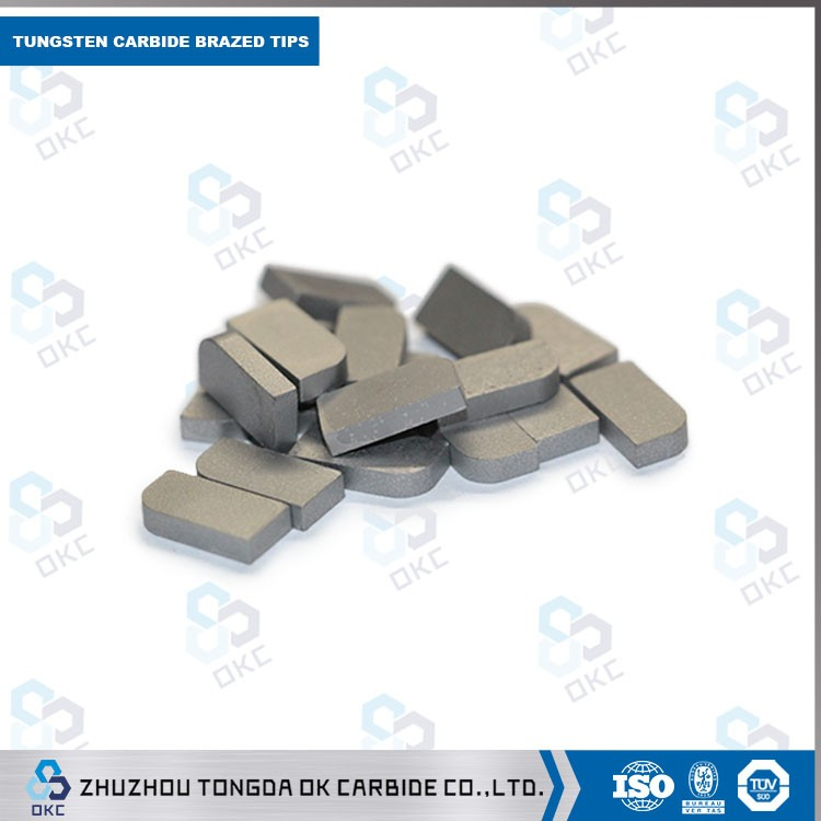 high quality 5/8 or3/4 square YG6/TY15 gangxin cemented carbide milling tips for semi-finishing