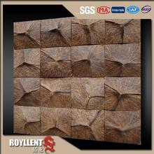 coconut shell wall panel