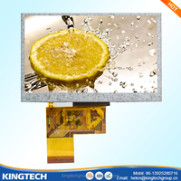 "outdoor sunlight readable android 4.3"" inch wvga tft lcd module display touch screen monitor"