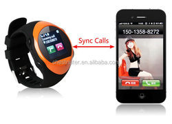 smart Quads band latest wrist watch mobile phone PG88 watch phone user manual with GPS and SOS watch phone call function