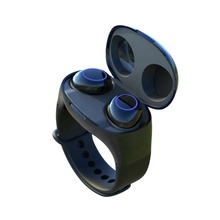 Wristband <strong>Watch</strong> <strong>Smart</strong> Bracelet Sport Handsfree Earbuds 2 in 1 Bluetooths 5.0 TWS Wireless Earphones