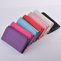 Luxury Universal Leather Card Wallet Purse Cover Case For 5.5inch Cell Phone Cover
