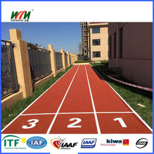 EPDM system synthetic rubber running track surface material