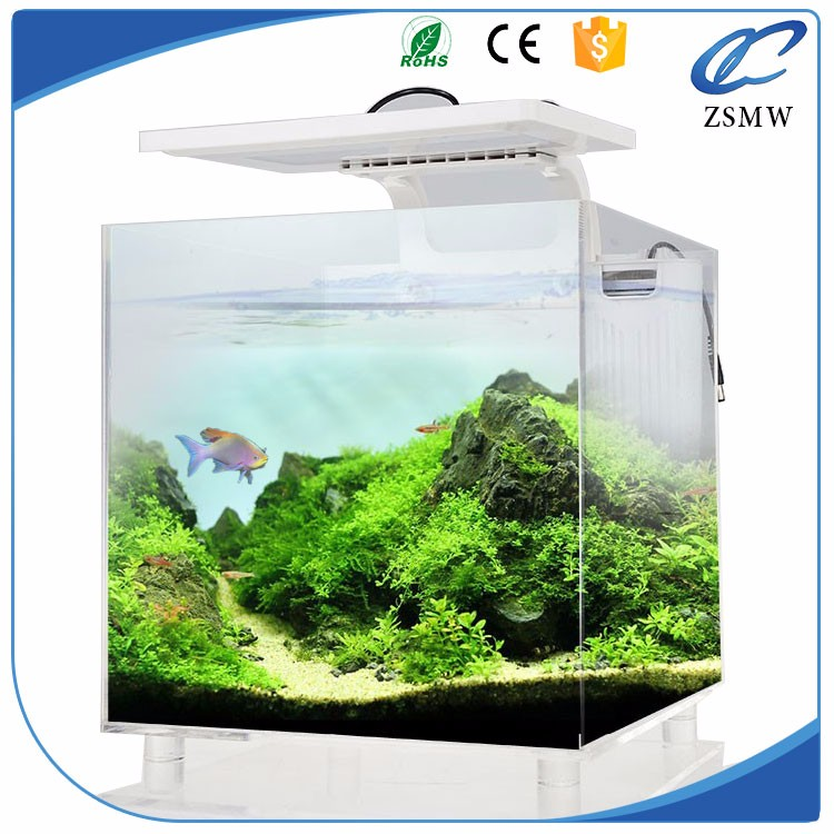 wholesale Clear square large acrylic aquarium fish tank