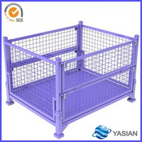 heavy duty metal steel box cage for transportation