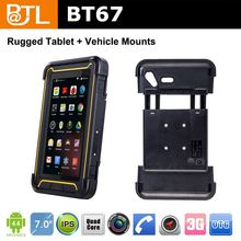WDF470 BATL BT67 glonass 450nit dual core android 7inch phone call tablet loudly speaker suit for bad environment worker