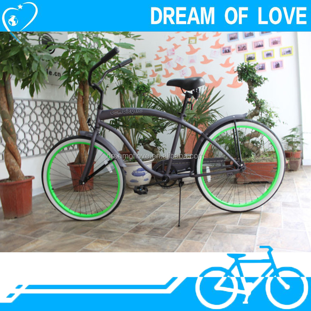 26 size cool beach cruiser bike chopper bicycle for men made in china