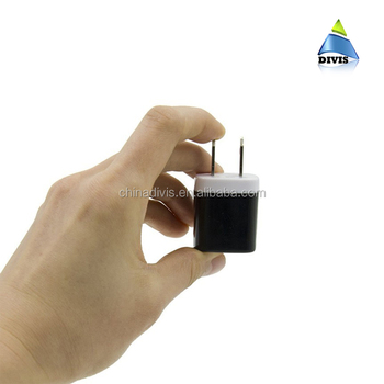 Manufacturer mobile phone accessories portable wall charger 5V 1A micro USB travel charger