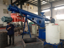 Curing agent and resin agent sand reclamation resin sand mixer