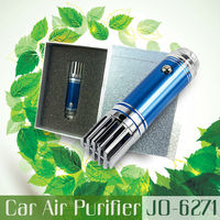 Best Selling New Product 2014 Hot Promotional Gift Items (Mini Car Ionizer Air Purifier For Car JO-6271)
