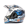 Dot Cross Fabric Custom Ski Made Half Face Cycling Cross Helmet Motorcycle Motocross