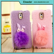 for samsung galaxy note3 plush cute rabbit soft tpu case