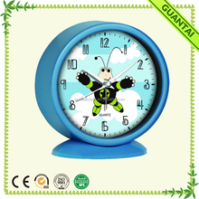 "5"" Plastic Attractive Fashion Modern Alarm Clocks With Cartoon Pictures for Child"