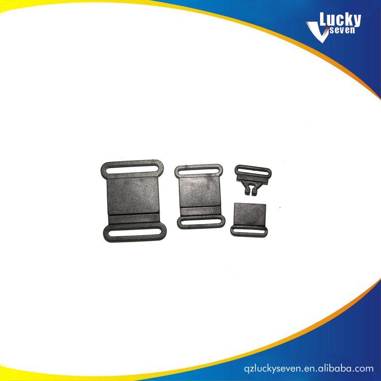 Double Secure Side Release Plastic Buckles for Webbing Straps