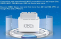 Xtool iOBD2 MFi Bluetooth Compatible with Free OBD2 Software ELM327