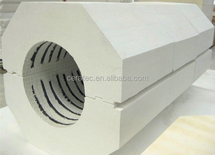 Customizable High Aluminum Ceramic Fiber vacuum insulated Shape