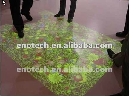New effects 3D Interactive Floor and wall system for kits,entertainment, wedding, education, event,home,mall