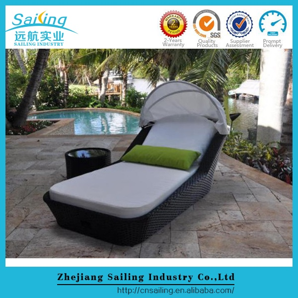 Most Popular Patio Outdoor Rattan Bali Lounger