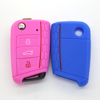 Hot Sale 3 button auto silicone car key cover for vw golf 7 key vw key cover