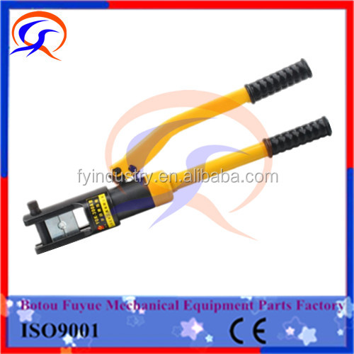 plastic carring case portable transmission line string crimping tool with crimping moulds 16-300 mm2