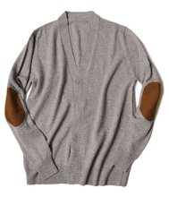 2017 men pure cashmere cardigan sweater OEM service
