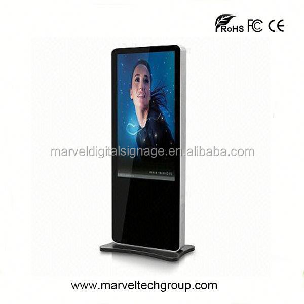 Stand alone indoor wireless wifi led digital display screen