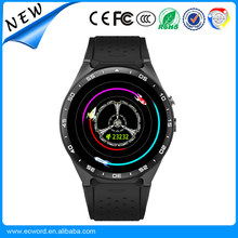 "KW88 Android 5.1 OS Smart Watch 1.39"" MTK6580 SmartWatch Phone Support 3G GPS WiFi Nano SIM WCDMA"