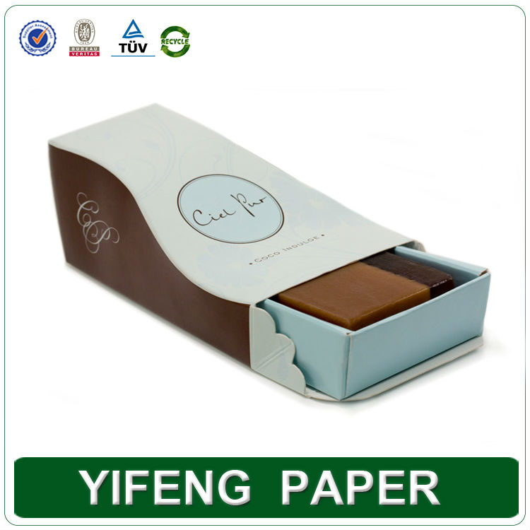 new products 2014 wholesale paper board custom soap boxes design