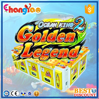 IGS Arcade Fishing Game Machine Golden Legend For Sale