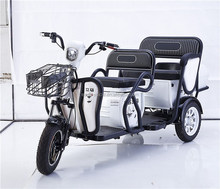 2 seat Electric Tricycles for eldly and disabled 3 wheel tricycle