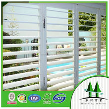 swinging adjustable coated aluminum shutter slat