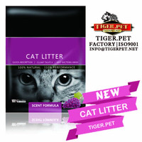 Animal environment cleaner-- clumping bentonite cat litter