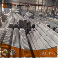 Tianjin manufacturer TSX-173325 galvanized steel pipe flexible 2 inch schedule 40 gi pipe prices